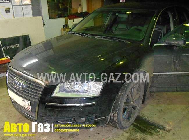 Установка газа на Audi A8
