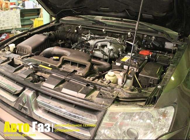 Установка ГБО Vialle на Mitsubishi Pajero 4