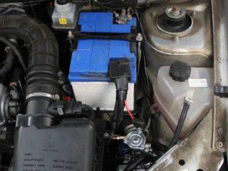 Газовое оборудование на Lada Kalina 1,6.