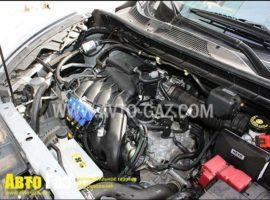 ГБО на Nissan Juke мотор