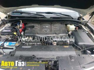 ГБО на QX56 мотор