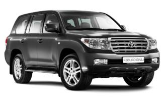 установка ГБО на Toyota Land Cruiser 100