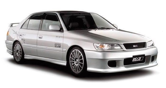 установка ГБО на Toyota Corona