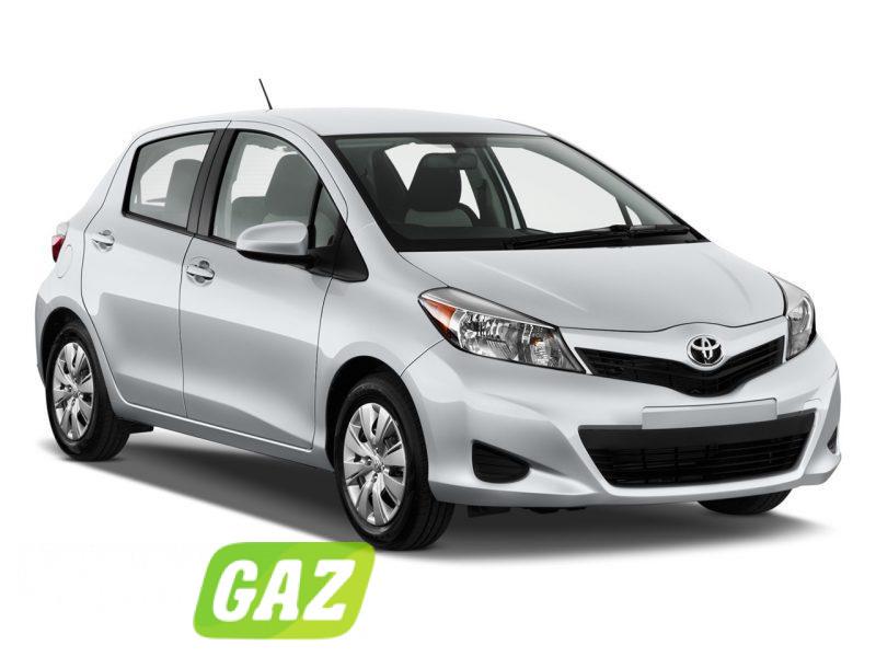 установка ГБО на Toyota Vitz