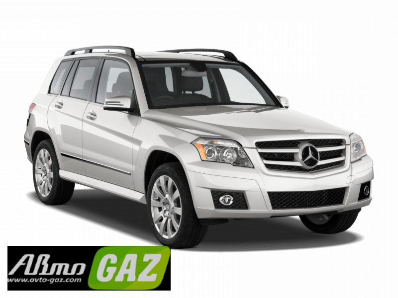 установка ГБО на Mercedes-Benz GLK-klasse