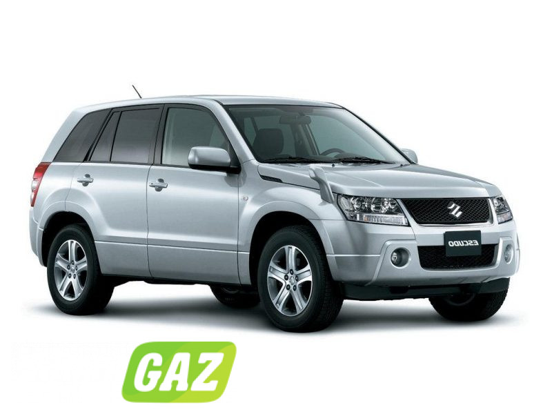 установка ГБО на Suzuki Escudo
