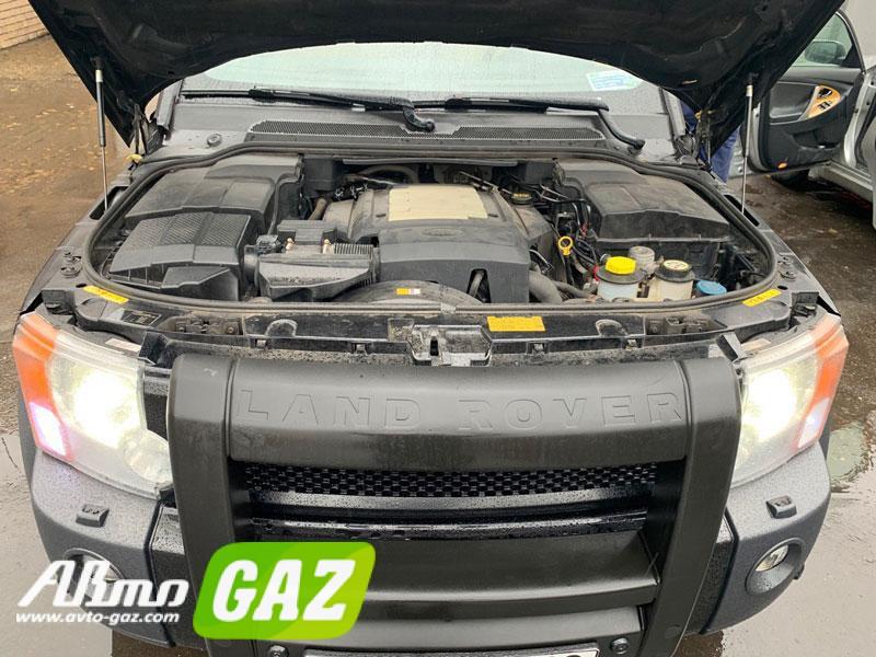 Установка газа на Land Rover Discovery