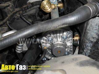 Газ на BMW3.