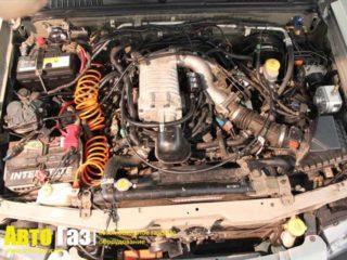 Газовое оборудование на Nissan Frontier 3.3.