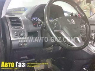 ГБО на Honda CR-V переключатель