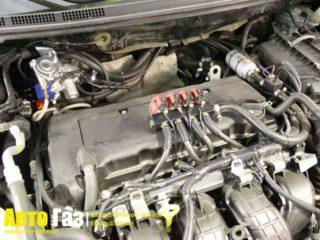 Газ на Mitsubishi Lancer X.
