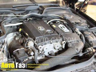 Газовое оборудование на Mercedes-Benz.