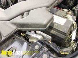 Газовое оборудование на Mitsubishi Lancer X.