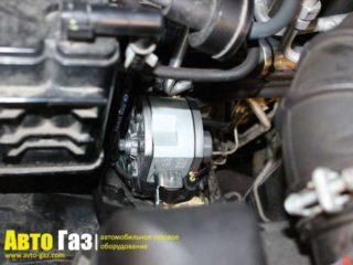 Газ на Mitsubishi Pajero 4.