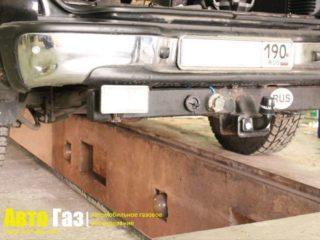 Газ на Chevrolet Tahoe 5.3.