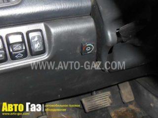 Газовое оборудование на Acura MDX.