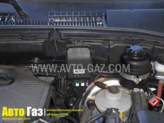 Газовое оборудование на Niva Chevrolet.