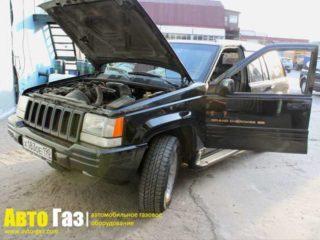 ГБО на Jeep Grand Cherokee 5.2.
