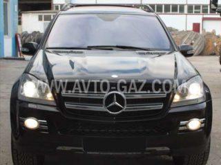 ГБО на Mercedes-Benz GL 450.