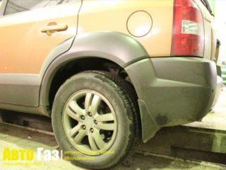 ГБО на Hyundai Tucson 2.7.