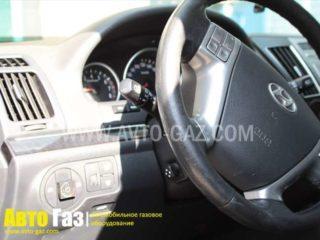 ГБО на Hyundai i55.