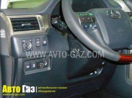 Газовое оборудование на Lexus GX460.