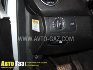 ГБО на Mercedes-Benz ML350.
