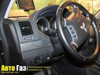 ГБО на Mitsubishi Pajero 4.