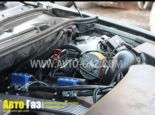 двигатель BMW X5 с ГБО