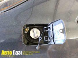 Газовое оборудование на Mercedes-Benz E320 (W124).
