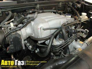 ГБО на Mitsubishi Montero 3.0.