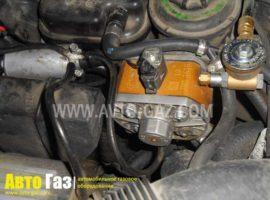 Газовое оборудование на BMW X5.