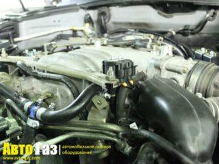 Газ на Infiniti FX45.