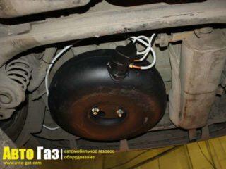 Газ на PEUGEOT 307 sv.