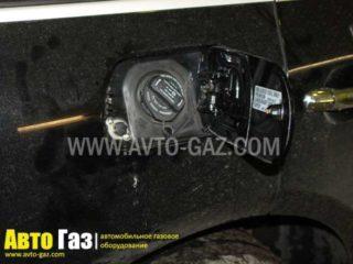 Газовое оборудование на VW Touareg 3,2.