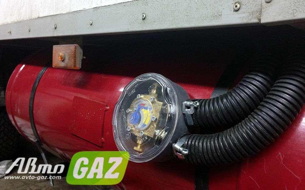 Установка газового оборудования своими руками на газель