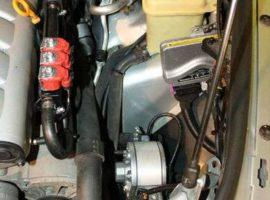 Газовое оборудование на Volkswagen TOUAREG 3.2.