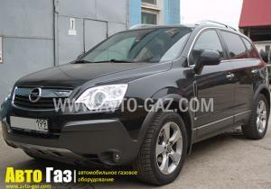 Установка ГБО на Opel Antara 3.2