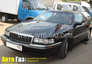 Установка ГБО на Cadillac Eldorado 4.9