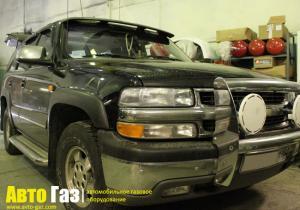 Установка ГБО на Chevrolet Tahoe 5.3