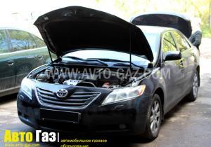 Установка ГБО на Toyota Camry 2,4
