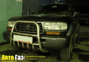 Установка ГБО на Toyota Land Cruiser 80