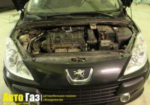 Установка ГБО на Peugeot 307 Sv